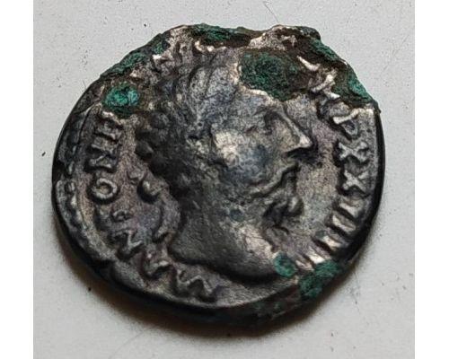Денарий лимесный Антонин Пий Древний Рим (138 - 161 гг. н.е.) (7)