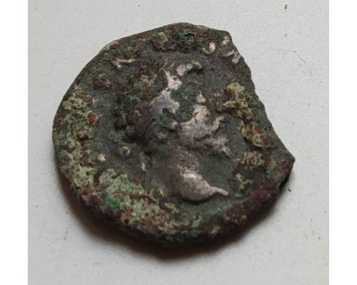Денарий лимесный Антонин Пий Древний Рим (138 - 161 гг. н.е.) (8)