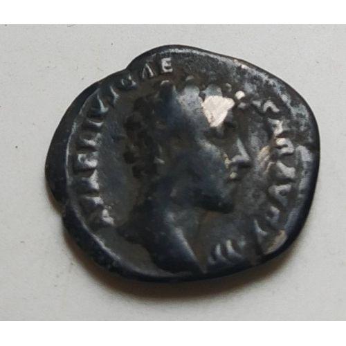 Денарий лимесный Марк Аврелий Древний Рим (161 - 180 гг.) (5)