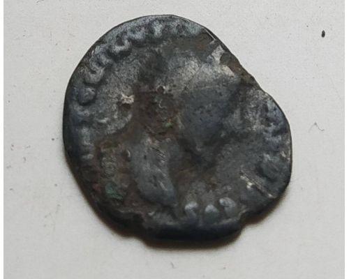 Денарий лимесный Антонин Пий Древний Рим (138 - 161 гг. н.е.) (12)