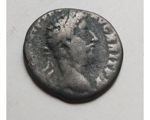 Денарий лимесный Антонин Пий Древний Рим (138 - 161 гг. н.е.) (14)
