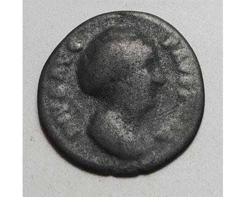 Денарий лимесный Фаустина Старшая (138 - 161 гг. н.е.)