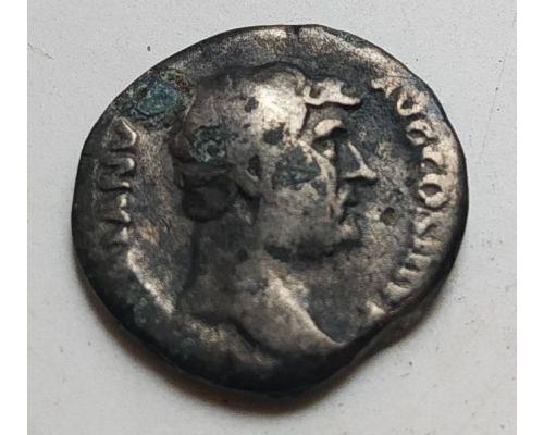 Денарий лимесный Антонин Пий Древний Рим (138 - 161 гг. н.е.) (19)