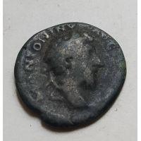 Денарий лимесный Антонин Пий Древний Рим (138 - 161 гг. н.е.) (20)