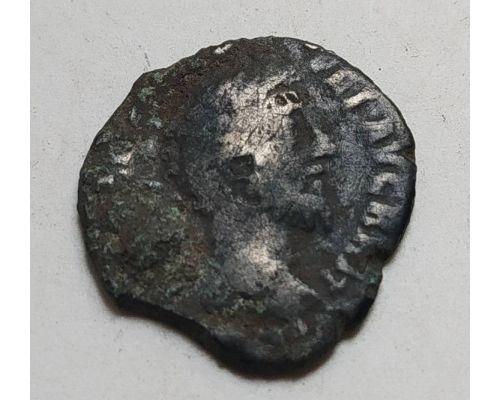 Денарий лимесный Марк Аврелий Древний Рим (161 - 180 гг.) (6)
