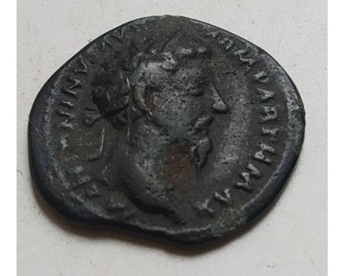 Денарий лимесный Антонин Пий Древний Рим (138 - 161 гг. н.е.) (21)