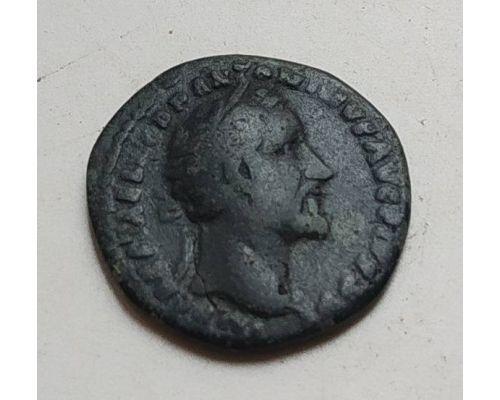 Денарий лимесный Антонин Пий Древний Рим (138 - 161 гг. н.е.) (22)