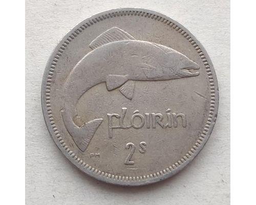 2 флорина (шиллинга) 1963 год Ирландия Семга