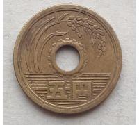 5 иен 1965 год Япония Сёва Хирохито
