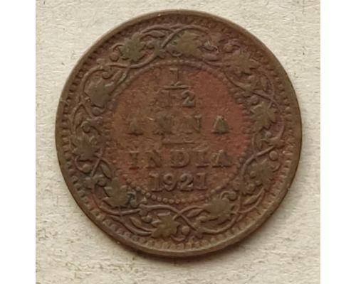 1/12 анны 1921 год Британская Индия Георг V