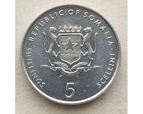 5 шиллингов 2000 год Сомали СЛОН