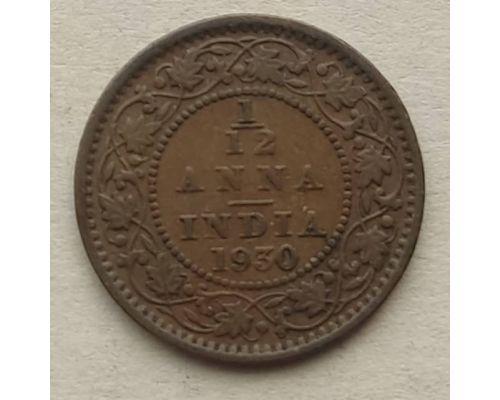 1/12 анны 1930 год Британская Индия Георг V