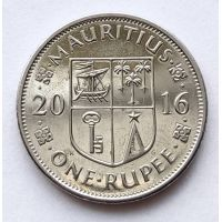 1 рупия 2016 год Маврикий Сивусагур Рамгулам