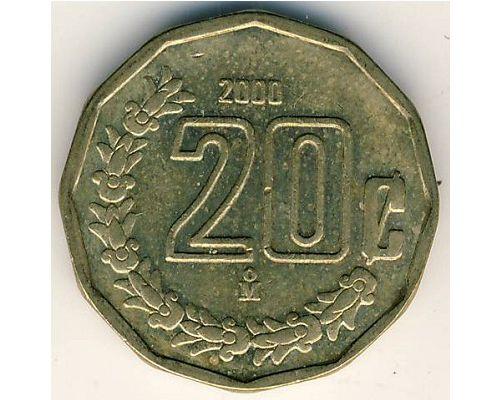 20 сентаво 2001 год Мексика