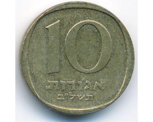 """10 агорот 1972 год Израиль תשל""""ב"""