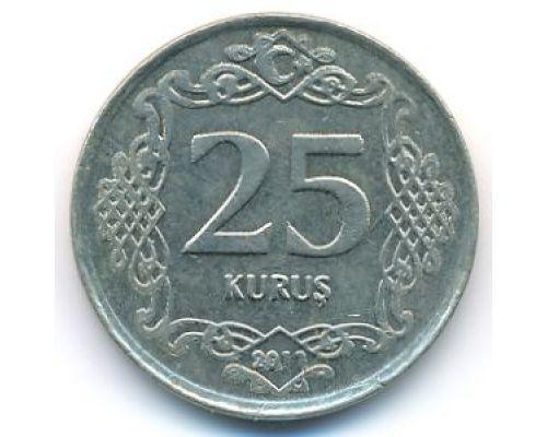 25 куруш 2011 год Турция