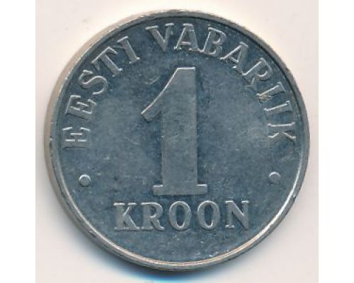 1 крона 1993 год Эстония