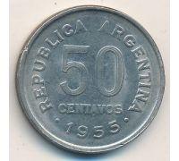 50 сентаво 1955 год Аргентина
