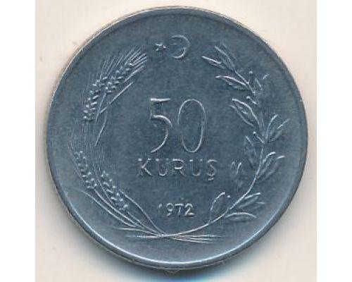 50 куруш 1972 год Турция