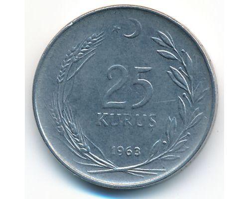 25 куруш 1963 год Турция
