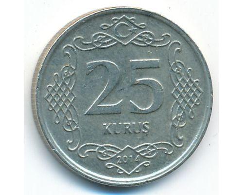 25 куруш 2014 год Турция