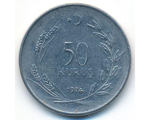 50 куруш 1974 год Турция