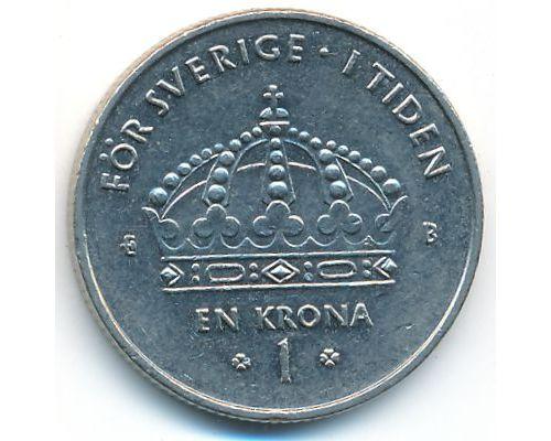 1 крона 2001 год Швеция