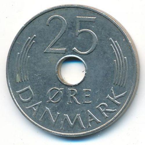 25 эре 1986 года. Дания