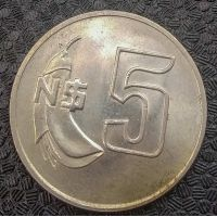 5 новых песо 1980 год Уругвай