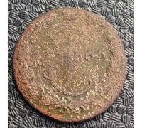 Деньга 1766 год ЕМ Екатерина 2 Царская Россия (денга)