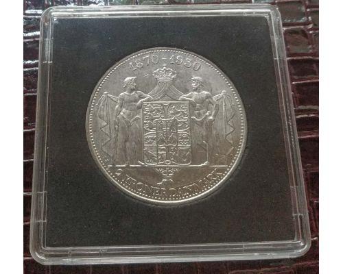 2 кроны 1930 год Дания серебро 15г оригинал UNC