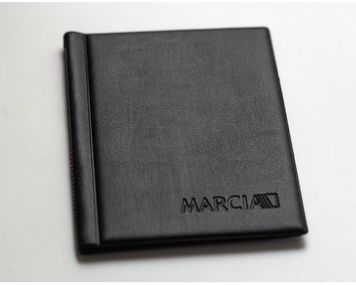 Альбом для монет Marcia (8 листов на 48 монет) черный