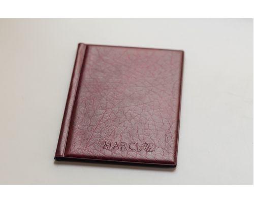 Альбом для монет Marcia (8 листов на 192 монет) красный