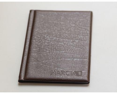 Альбом для монет Marcia (8 листов на 96 монет) коричневый