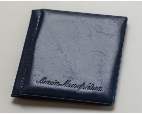Альбом для монет Marcia карманный (8 листов на 52 монеты МИКС) синий
