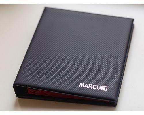 Альбом для монет Marcia (10 листов на 221 монету) синий
