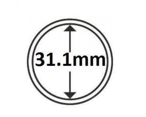 Капсула для монеты 31.1 мм (для юбилейных 2 гривны Украины) Schulz Marcia