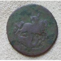 1 копейка 1766 год ММ Екатерина 2 Царская Россия