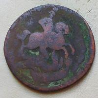 2 копейки 1759 год Елизавета Царская Россия