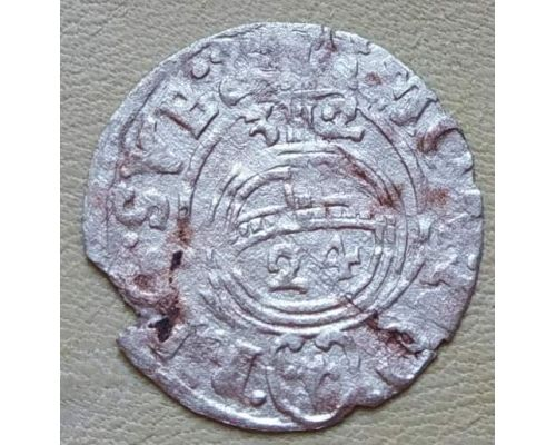 Полторак 3 полугроша 1,5 гроша 1632 год Эльблонгский Густав Адольф Польша