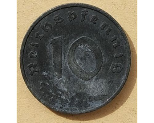 10 рейхспфеннигов 1942 A Германия Третий Рейх