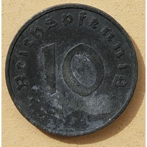 10 рейхспфеннигов 1942 A Германия. Третий Рейх