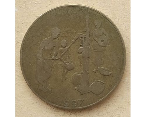 10 франков 1997 год Западная Африка ФАО