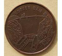 Жетон США Невада Лас-Вегас Hoover Dam 24 мм