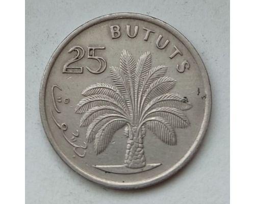 25 бутут 1971 год Гамбия