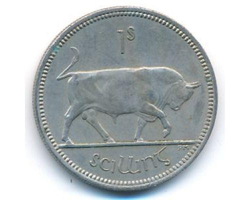 1 шиллинг 1963 год Ирландия