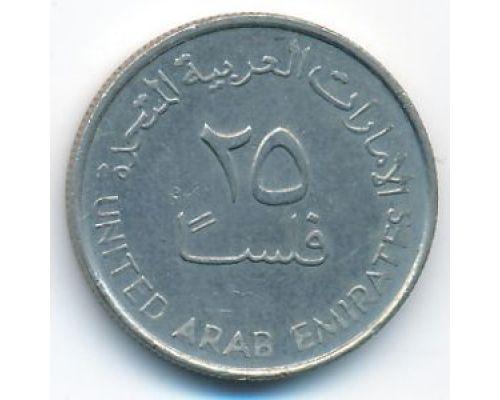 25 филс 1998 год ОАЭ Газель