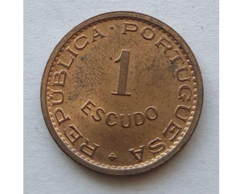 1 эскудо 1970 год Португальский Тимор
