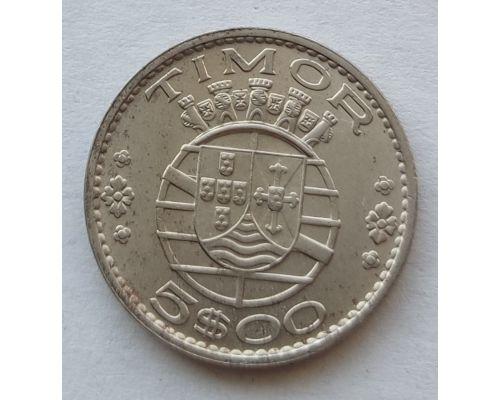 5 эскудо 1970 год Португальский Тимор