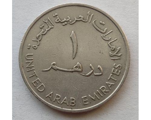 1 дирхам 1989 год ОАЭ сосуд Далла
